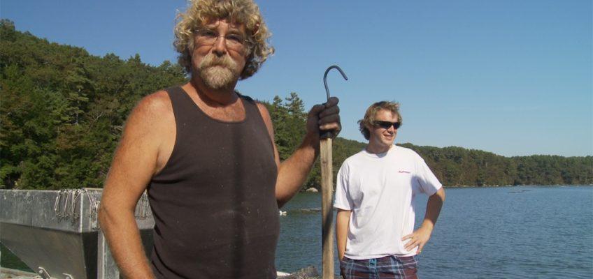 Fisherman Holding Spear