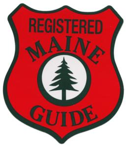 Registered Maine Guide Logo