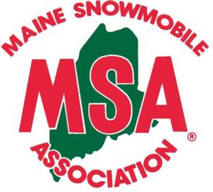 Maine Snowmobile Association Logo