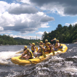 Whitewater Rafting on the Penobscot River